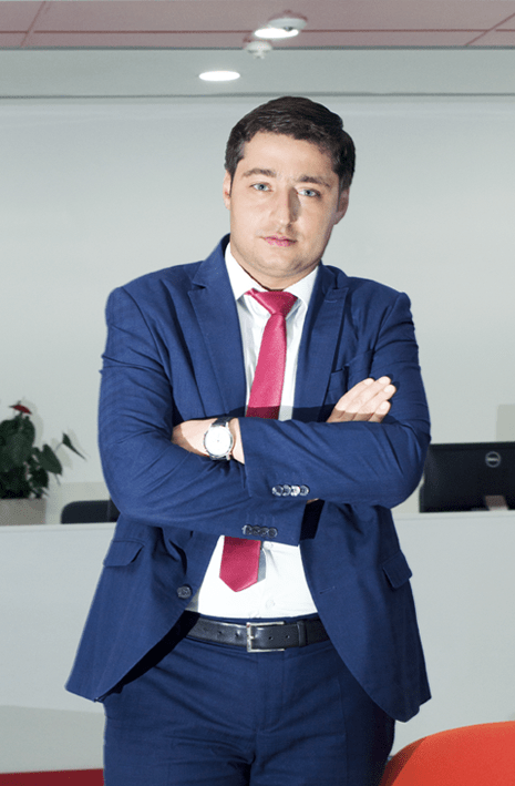 Head of the process office at Kapital Bank, Fuad Guseinov